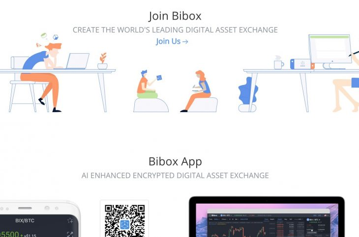 Bibox - average per day trades of US$100 million | ICO list and ICO