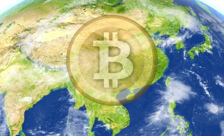 how much of cryptocurrency and blockchain is in asia
