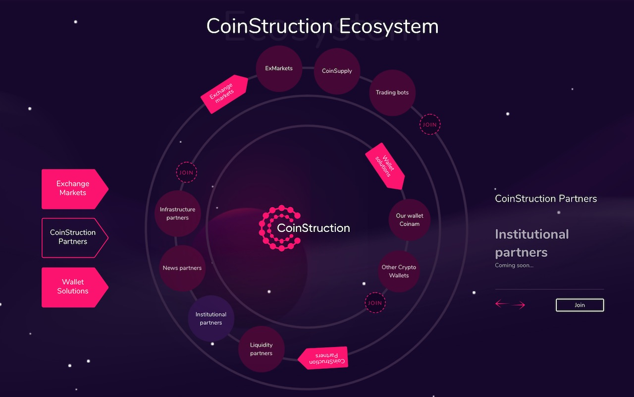 CoinStruction ICO (CNS token)