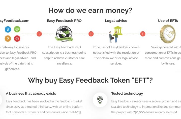 Easy Feedback ICO (IEO) review and rating | ICO list and ICO